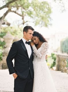 Romantic, Old World Wedding Inspiration at Viscaya Gardens | Miami Wedding Inspiration - Photographer TROY MEIKLE | Magnolia Rouge: Fine Art Wedding Blog | Romantic Wedding Photos | Brides | Groom Style Miami Wedding, Arizona Wedding, Romantic Wedding Photos, Elegant Wedding, Old World Wedding, Groomsmen Looks, Bride And Groom Pictures, A Line Gown, Groom Style
