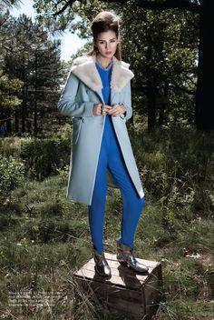 PLAID MAGAZINE  Fashion styling: Amy Lu, Judy Inc/  Makeup and hair: David Goveia, Judy Inc