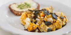 Huevos revueltos con semillas de calabaza y cacahuates | Los Sabores de México y el mundo
