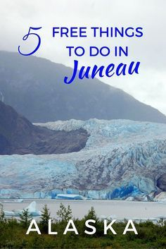 Mendenhall Glacier is one of the 5 free things o do in Juneau, Alaska, USA. There's more to Alaska's state capital and the expensive cruise shore excursions. Here are 5 free things to do in Juneau with kids. Alaska Cruise Tips, Alaska Travel, Canada Travel, Travel Usa, Alaska Trip, Canada Trip, Beach Travel, Juneau Alaska, Alaska Usa