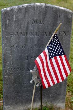 My Maine Ancestry: Tombstone Tuesday - Samuel Akley #genealogy