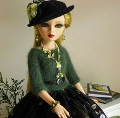 By lisella64...Doll Outfit 4 Tonner Ellowyne,Prudence,Lizette,Amber-Jewelry-A6