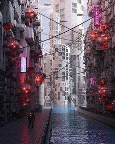 The 3D Artist Inward Brings To Light Sublime Cyberpunk Worlds