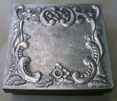 caja repujada en aluminio - manosalaobratv