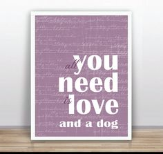 Typography poster Printable Poster Wall Art Decor by ByYolanda, €6.00