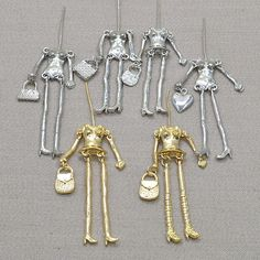Doll parts on arrival!! Fashion doll necklace accessories parts doll pendant body with arms and feet  Dress up by yourself-in Jewelry Findings & Components from Jewelry & Accessories on Aliexpress.com | Alibaba Group