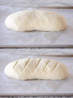 Homemade French bread has never been easier! This simple recipe produces a perfect loaf of French bread that will rival any bakery with a super easy tip for getting that crisp outer crust and soft, fluffy inside. Loaf Recipes, Bread Machine Recipes, Easy Bread Recipes, Cooking Recipes, Granola, French Loaf, Homemade French Bread, Muffins, Instant Yeast