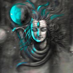 Shiva Parvati Images, Mahakal Shiva, Shiva Art, Krishna Images, Lord Shiva Statue, Lord Shiva Pics, Shiva Sketch, Om Art, Shiva Tattoo Design