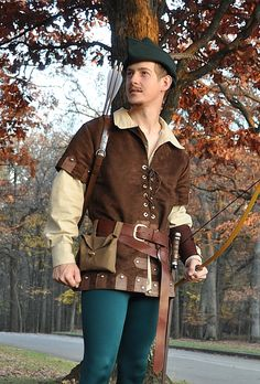 stom ordered ensemble was based on Robin's costume in Robin Hood: Men in Tights.  Using the many detailed reference images kindly provided b...