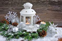 Candles Holidays Christmas Balls Snowflakes Pine cone Street lights