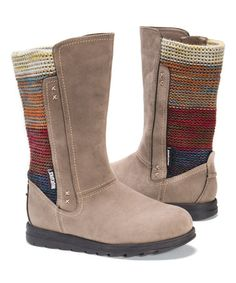 Look what I found on #zulily! Tan Stacy Boot - Women #zulilyfinds
