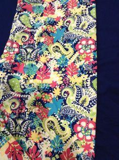 b858bfcddd7021 NWOT Lularoe TC Teal Coral Yellow Floral Paisley Leggings. HTF Unicorn  Print #fashion #