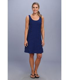 Spice up your wardrobe with this Horny Toad® dress.. Slim fit has a modern cut that hugs the body ...