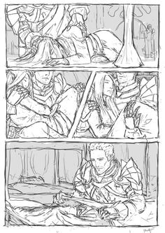 well... someone had to carry her down. Cullen and Surana
