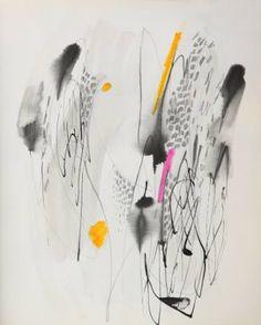 "Saatchi Art Artist Milena Vuckovic; Drawing, ""Landscape No6"" #art"