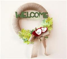 Welcome to School Wreath