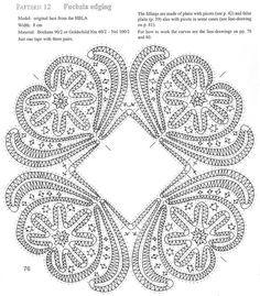 bobbin lace patterns free - Buscar con Google                                                                                                                                                                                 More
