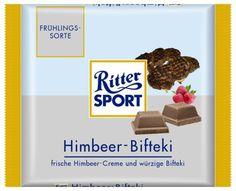 RITTER SPORT Fake Schokolade Himbeer-Bifteki