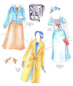 Nancy Drew Classic Paper doll by Darlene Jones - Yakira Chandrani - Picasa Webalbum
