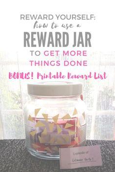 reward jar ways to reward yourself daytodaydo