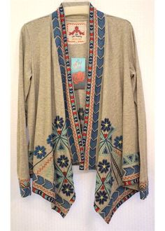WANT - Johnny Was Angie Wrap Jacket-Johnny Was -Monkee's of Blowing Rock