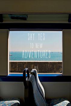 Go on an adventure!