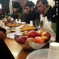 #Repost @vlad_vit  Завтрак паломников в Монастыре Ватопед в маленькой трапезной. by garri200545