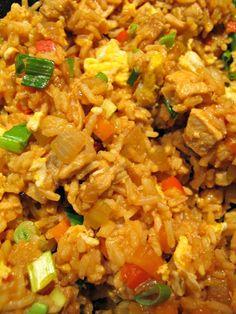 Ruokapankki: Kanariisiä kiinalaisittain Fried Rice, Fries, Ethnic Recipes, Food, Essen, Meals, Nasi Goreng, Yemek, Stir Fry Rice