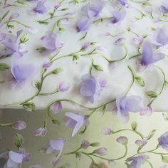 Cheap organza silk fabric, Buy Quality fabric mirror directly from China organza printed fabric Suppliers: By Meter Lilac Applique Lace Cloth 3d Floral Wedding Fabric Organza