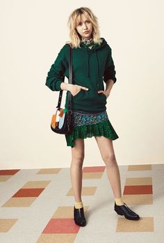 Feminine Style That's Dope, Not Dainty #refinery29  http://www.refinery29.com/coach-cool-girl-feminine-style-spring-2016