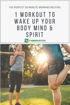 A Simple 30 Minute Workout For Mind, Body & Spirit (The Exact Routine I Do Each Morning) E Spirit, Mind Body Spirit, Food Nutrition Facts, Sports Nutrition, 30 Minute Workout, Healthy Living, Eat Healthy, Health And Wellness, Routine