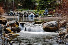 Waterfalls on  Sundance stream