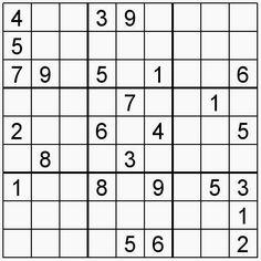 Pasatiempos para Imprimir: Sudoku nº 156