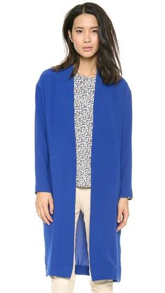 can definitely take this and put together a funky look, or an easy casual look #effortless #fashion #cobalt