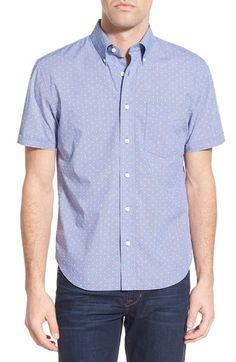 Jack Spade 'Caulfield' Trim Fit Dot Print Sport Shirt