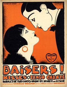 Baisers !, 1925 (ill.: Peter De Greef); ref. 1725