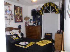 Pittsburgh Steelers, Bedroom Decor, Decorating Bedrooms, Bathrooms Decor