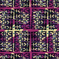This geometric pattern was designed as a part of the maximalist design challenge in the Textile Design Lab. See more in this post. Surface pattern design, textile design, purple, texture, geometric, abstract Maximalist Interior, Surface Pattern Design, Pattern Designs, Flying Flowers, Design Lab, Repeating Patterns, Textile Design, Bold Colors, Art History
