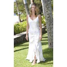 Queen Keopuolani Hawaiian Wedding Dress   Alii Collection Hawaiian Print  Beach Wedding Dress  Apparel Strapless Hawaiian Beach Wedding Dress by ishkabibblesdesigns  . Hawaii Wedding Dress. Home Design Ideas