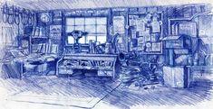 Cars - Quatre Roues - The Art of Disney Disney Pixar Cars, Animation Disney, Film D'animation, Four Wheelers, Paint, Drawing Drawing