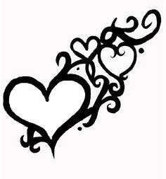 Tattoo designs, Hearts