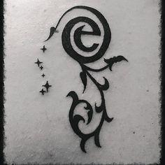 Efteling tatoeage van Syl van Honk