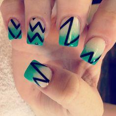 #acrylic #nails