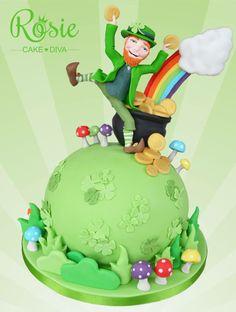 St. Patrick's Day - Rosie Cake-Diva