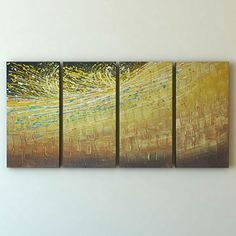 Ready to Hang Modern Contemporary Abstract Stretched Canvas Painting Canvas Wall Art by Gefii gefii http://www.amazon.com/dp/B00Q2IW6VA/ref=cm_sw_r_pi_dp_NMLEvb1GK0VWY