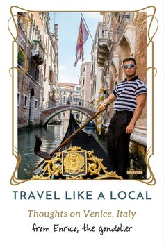 Do we take that gondola ride? Pondering the authenticity of that touristy boat ride with the gondolier around Venice, Italy. Europe Travel Tips, New Travel, Solo Travel, Italy Travel, Travel Guides, Travel Plan, European Destination, European Travel, Best Of Italy