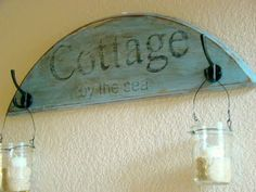 DIY Beach Cottage Sign