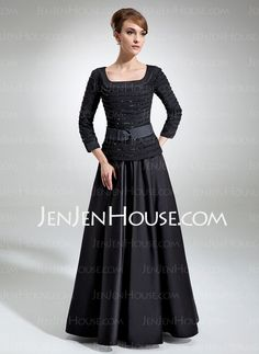 Mother of the Bride Dresses - $205.89 - A-Line/Princess Strapless Floor-Length Satin Mother of the Bride Dresses With Ruffle  Beading (008006314) http://jenjenhouse.com/A-line-Princess-Strapless-Floor-length-Satin-Mother-Of-The-Bride-Dresses-With-Ruffle-Beading-008006314-g6314