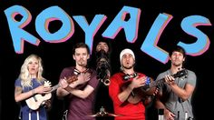 Ukulele Version of 'Royals by Lorde. Cover by Walk off the Earth. https://www.youtube.com/watch?v=QgD5p1XiVT0