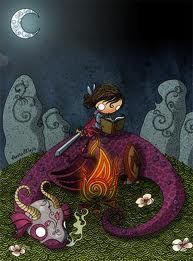 Las princesas también matan dragones.